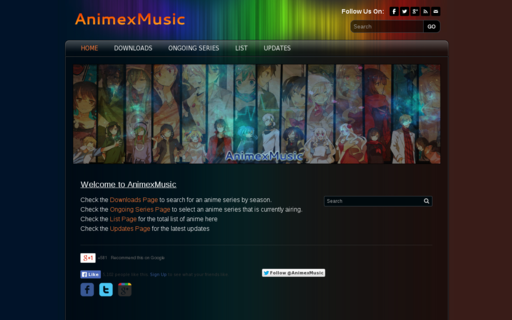 Access animexmusic.net using Hola Unblocker web proxy