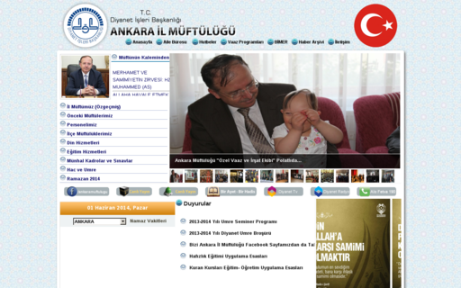 Access ankaramuftulugu.gov.tr using Hola Unblocker web proxy