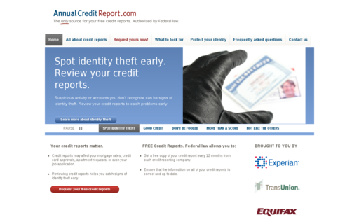 Access annualcreditreport.com using Hola Unblocker web proxy
