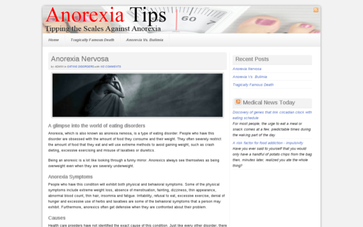 Access anorexia-tips.com using Hola Unblocker web proxy