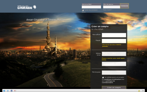 Access ansar-ghuraba.in using Hola Unblocker web proxy