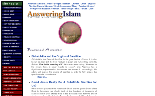 Access answering-islam.org using Hola Unblocker web proxy