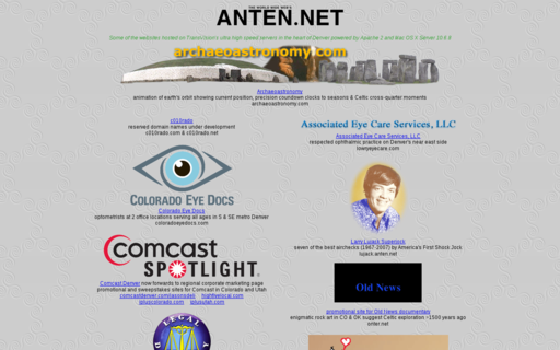 Access anten.net using Hola Unblocker web proxy
