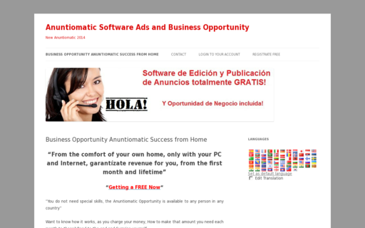 Access anuntiomatic.com using Hola Unblocker web proxy