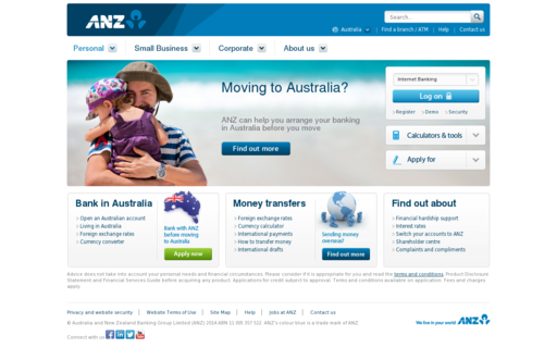 Access anz.com using Hola Unblocker web proxy