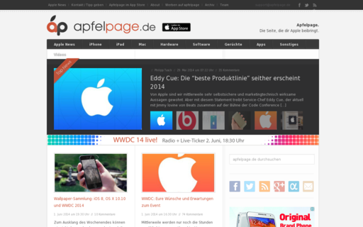 Access apfelpage.de using Hola Unblocker web proxy