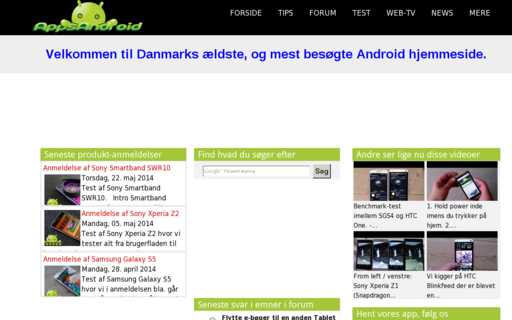 Access appsandroid.dk using Hola Unblocker web proxy