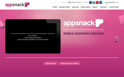 Access appsnack.com using Hola Unblocker web proxy