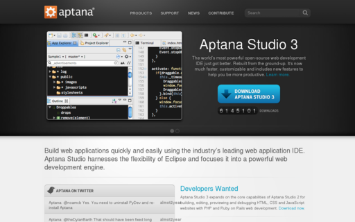 Access aptana.com using Hola Unblocker web proxy