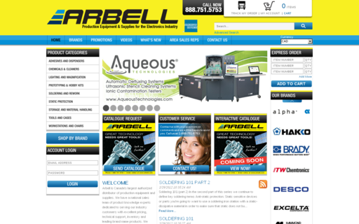 Access arbell.com using Hola Unblocker web proxy