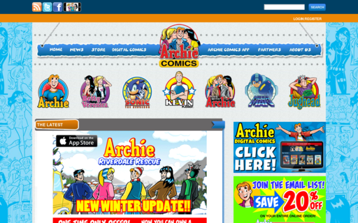 Access archiecomics.com using Hola Unblocker web proxy