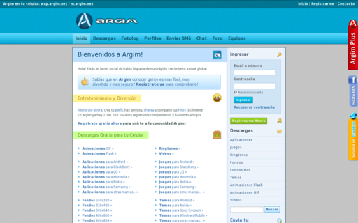 Access argim.net using Hola Unblocker web proxy