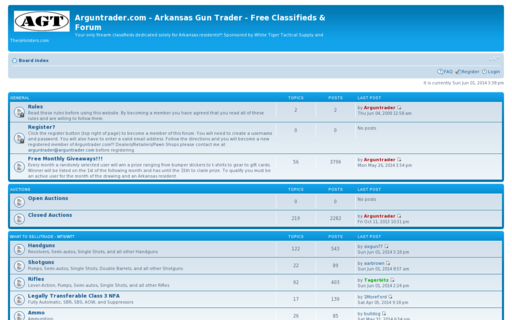 Access arguntrader.com using Hola Unblocker web proxy