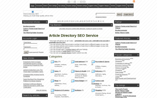 Access articledirectoryseo.com using Hola Unblocker web proxy