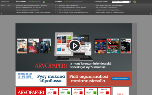 Access arvopaperi.fi using Hola Unblocker web proxy