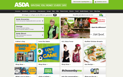 Access asda.com using Hola Unblocker web proxy