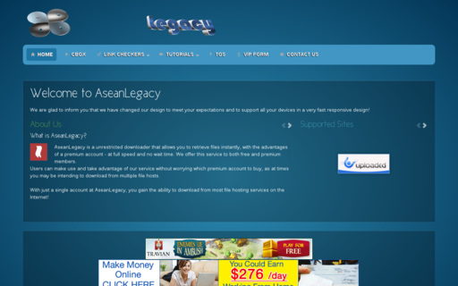 Access aseanlegacy.net using Hola Unblocker web proxy