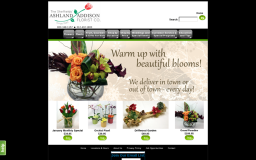 Access ashaddflorist.com using Hola Unblocker web proxy