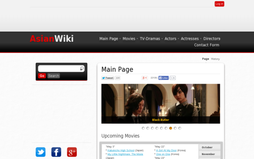 Access asianwiki.com using Hola Unblocker web proxy