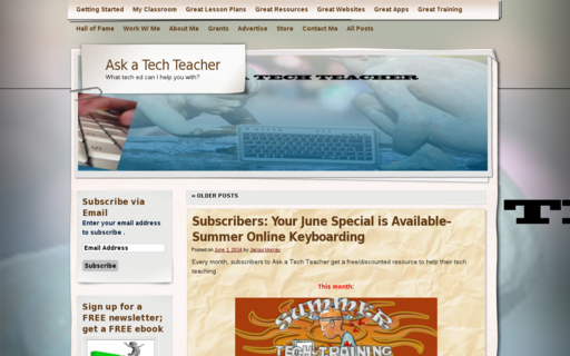 Access askatechteacher.com using Hola Unblocker web proxy