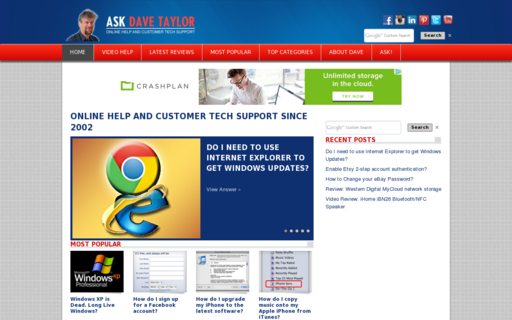Access askdavetaylor.com using Hola Unblocker web proxy