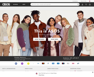 Access asos.com using Hola Unblocker web proxy