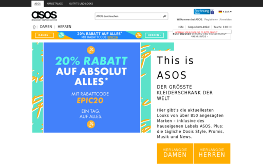 Access asos.de using Hola Unblocker web proxy