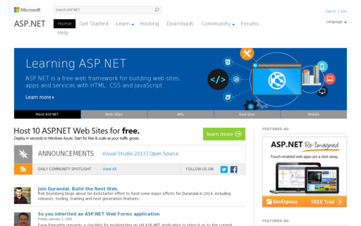 Access asp.net using Hola Unblocker web proxy