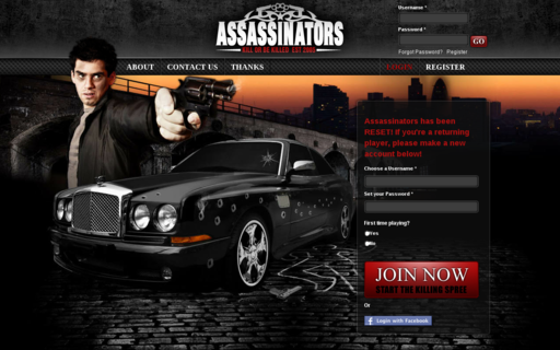 Access assassinators.net using Hola Unblocker web proxy