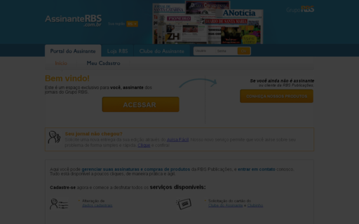 Access assinanterbs.com.br using Hola Unblocker web proxy