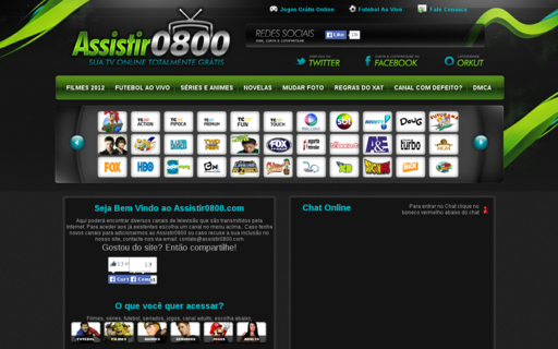 Access assistir0800.com using Hola Unblocker web proxy