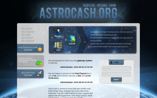 Access astrocash.org using Hola Unblocker web proxy
