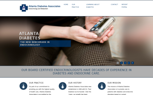 Access atlantadiabetes.com using Hola Unblocker web proxy