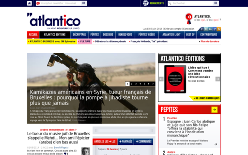 Access atlantico.fr using Hola Unblocker web proxy