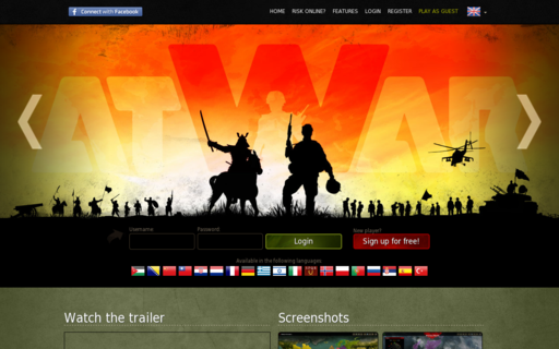 Access atwar-game.com using Hola Unblocker web proxy