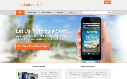 Access audiobooks.com using Hola Unblocker web proxy