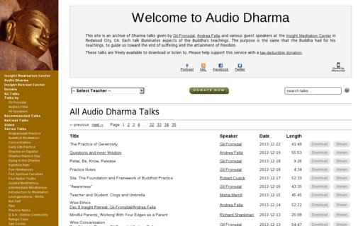 Access audiodharma.org using Hola Unblocker web proxy