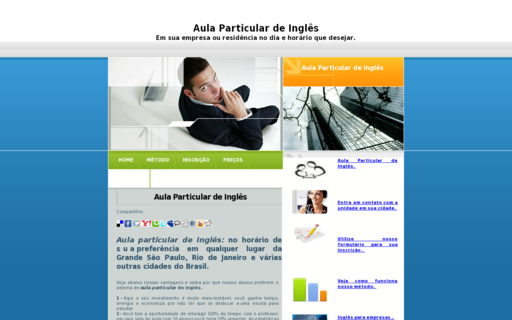 Access aulaparticulardeingles.com.br using Hola Unblocker web proxy