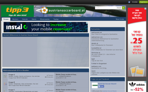 Access austriansoccerboard.at using Hola Unblocker web proxy