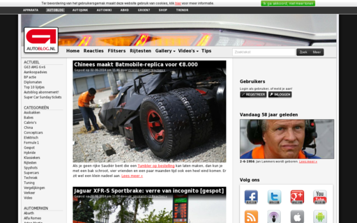 Access autoblog.nl using Hola Unblocker web proxy