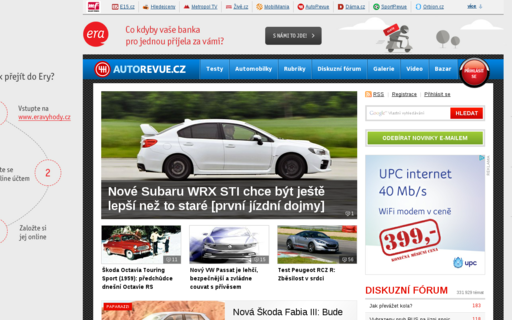 Access autorevue.cz using Hola Unblocker web proxy