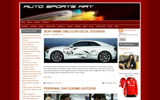 Access autosportsart.com using Hola Unblocker web proxy