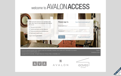 Access avalonaccess.com using Hola Unblocker web proxy