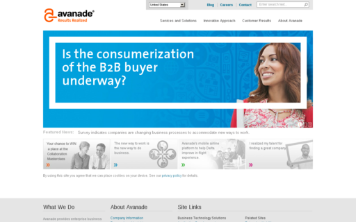 Access avanade.com using Hola Unblocker web proxy