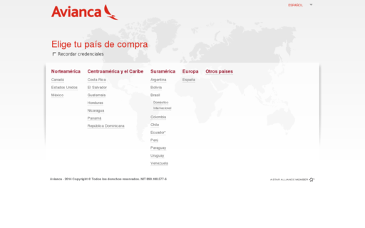 Access avianca.com using Hola Unblocker web proxy