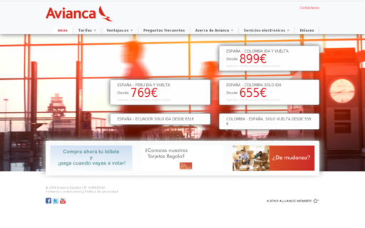 Access aviancaeuropa.com using Hola Unblocker web proxy