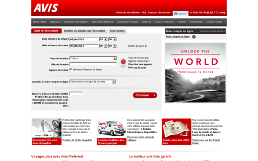 Access avis.fr using Hola Unblocker web proxy