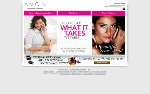 Access avon.com using Hola Unblocker web proxy