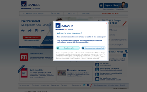 Access axabanque.fr using Hola Unblocker web proxy