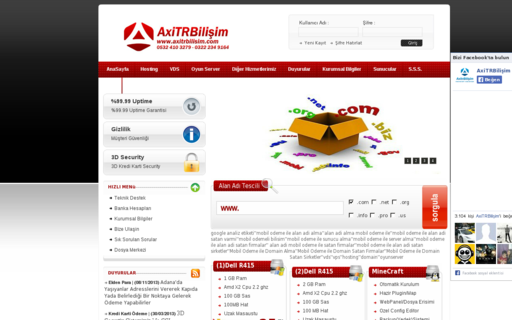 Access axitrbilisim.com using Hola Unblocker web proxy